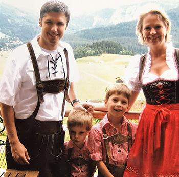 Leitner-de Potter Family photo